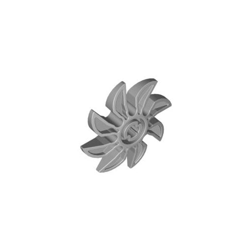 레고 부품 프로펠러 밝은 회색 Light Bluish Gray Propeller 8 Blade 5 Diameter 4159341