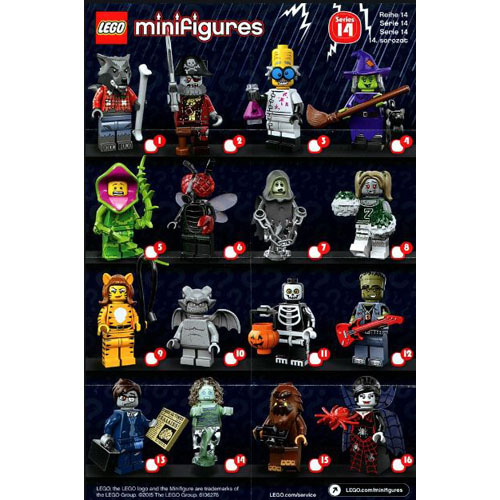 레고 설명서 인스 71010 미니피규어14탄 Minifigure, Series 14 (Complete Random Set of 1 Minifigure) Instruction