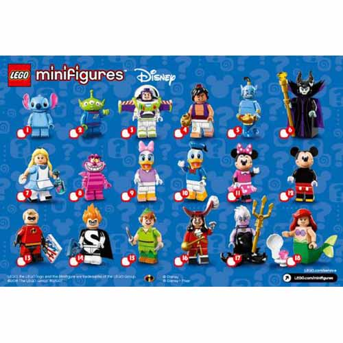 레고 설명서 인스 71012 레고 디즈니 피규어 1탄 Minifigure, Disney (Complete Random Set of 1 Minifigure) Instruction