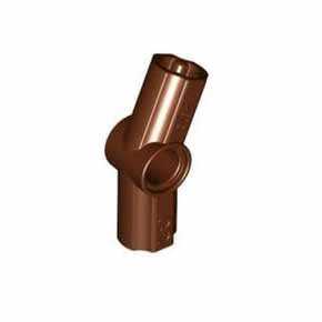레고 테크닉 부품 적갈색 Reddish Brown Technic, Axle and Pin Connector Angled #3 - 157.5 degrees 4610666[레고정품 브릭스타]