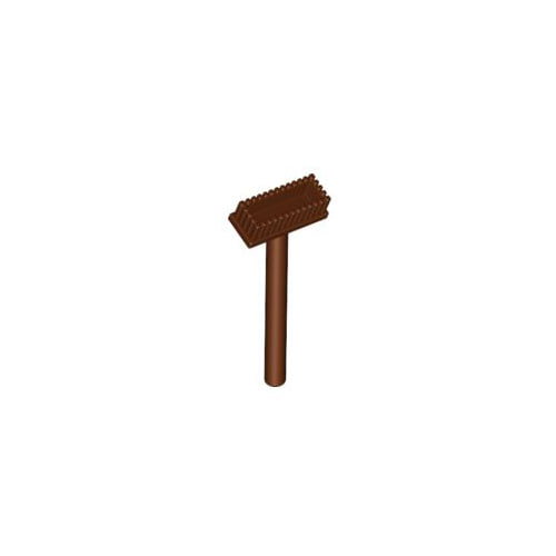 레고 부품 밀대 적갈색 Reddish Brown Minifigure, Utensil Push Broom 4211157