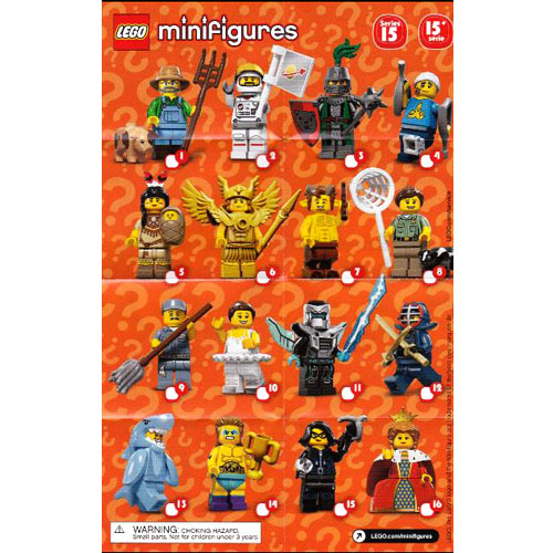 레고 설명서 인스 71011 미니피규어15탄 Minifigure, Series 15 (Complete Random Set of 1 Minifigure) Instruction