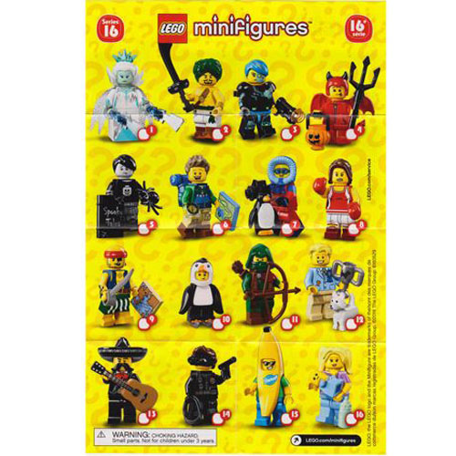 레고 설명서 인스 71013 미니피규어16탄 Minifigure, Series 16 (Complete Random Set of 1 Minifigure) Instruction