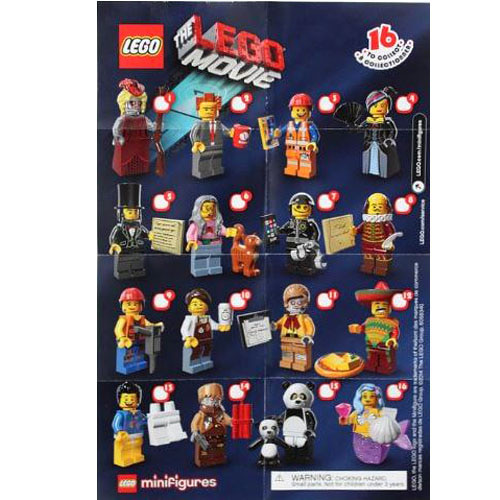 레고 설명서 인스 71004 레고 무비 피규어1탄 Minifigure, The LEGO Movie (Complete Random Set of 1 Minifigure) Instruction