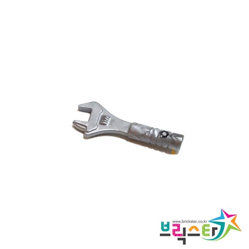 레고 부품 공구 렌치 플랫 실버 Flat Silver Minifigure, Utensil Tool Adjustable Wrench 6103444