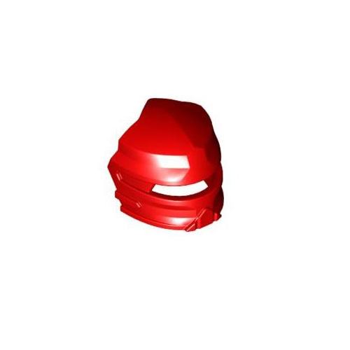 레고 부품 바이져 빨간색 Red Minifigure, Visor Fanciful for Santis 4223091