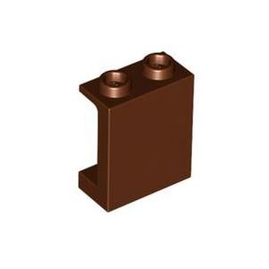 레고 부품 판넬 적갈색 Reddish Brown Panel 1 x 2 x 2 with Side Supports - Hollow Studs 6064188