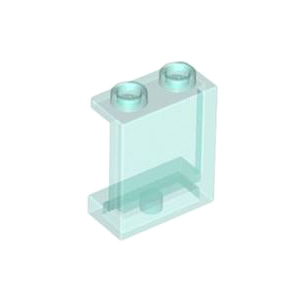 레고 부품 판넬 투명 라이트 블루 Trans-Light Blue Panel 1 x 2 x 2 with Side Supports - Hollow Studs 4640026 6253230