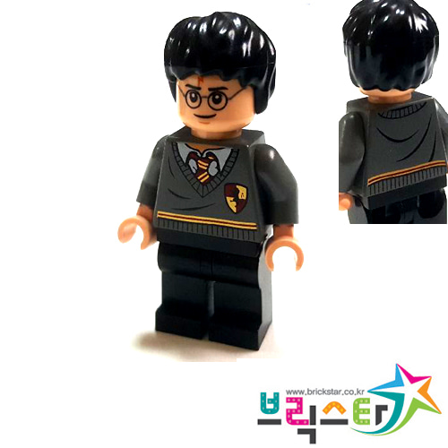 레고 피규어 해리포터 Harry Potter, Gryffindor Stripe and Shield Torso, Black Legs 4842