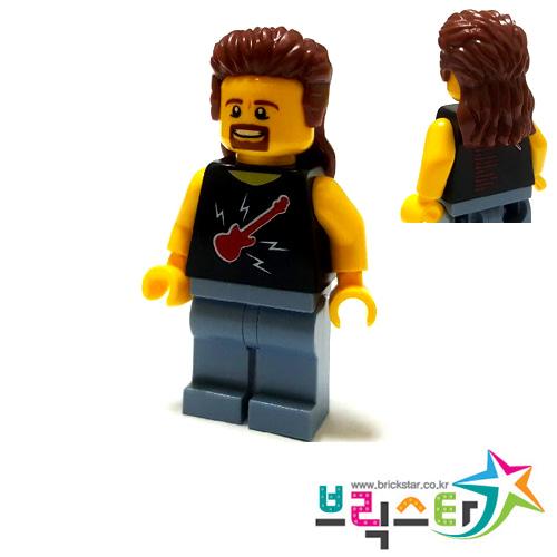 Lego mini figure 1 Reddish Brown small bent Whip accessory NEW