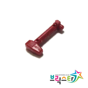 레고 부품 스타워즈 클론 트루퍼 레인지 파인더 다크 레드 Dark Red Minifigure, Helmet Antenna / Rangefinder for Helmet SW Clone Trooper with Holes 4655059