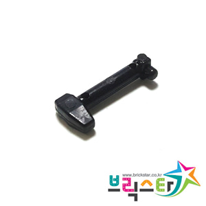 레고 부품 스타워즈 클론 트루퍼 레인지 파인더 검정색 Black Minifigure, Helmet Antenna / Rangefinder for Helmet SW Clone Trooper with Holes 4543097