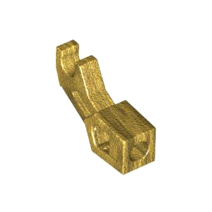 레고 부품 메카닉 팔 진주빛 골드 Pearl Gold Arm Mechanical, Exo-Force / Bionicle, Thick Support 6006741